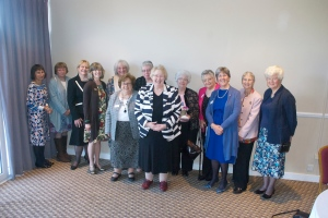 Federation President Jenny Vince with our friendship link club, High Wycombe