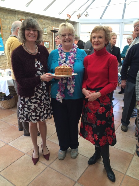 Wonderful cakes to enjoy whilst fundraising!