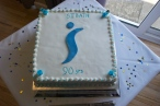 Our 90th anniversary cake