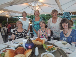Members of the South West and Channel Islands Region enjoying themselves at the recent International Conference in Istanbul