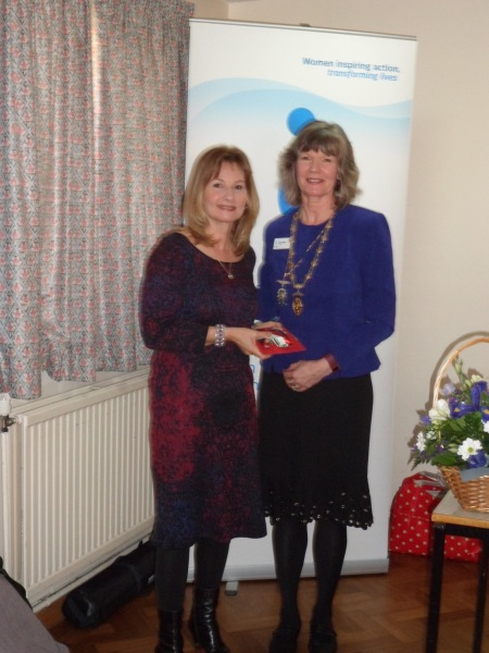 meeting Jane Walker, MBE at our recent regional meeting.